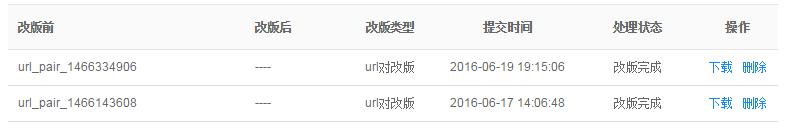 百度URL改版已完成,但URL新旧却未替换?